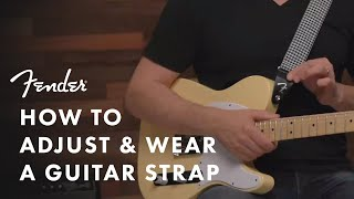 How To Wear a Guitar Strap | Fender