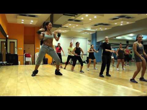Zumba with Polina Gugudi - Bad to Di Bone