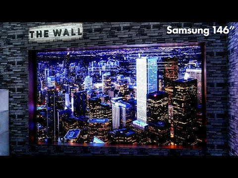 The Wall by Samsung - 146' MicroLED Modular Display - No Limits