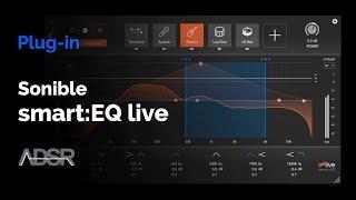 Sonible smart:EQ live - Adapative AI Equalizer