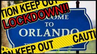 ORLANDO CORONA VIRUS CURFEW!! COVID-19