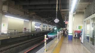 東北新幹線 なすの257号 郡山行き E5系  2019.09.14
