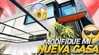 MODIFIQUE LA COCHERA DE MI NUEVA CASA.. | ManuelRivera11