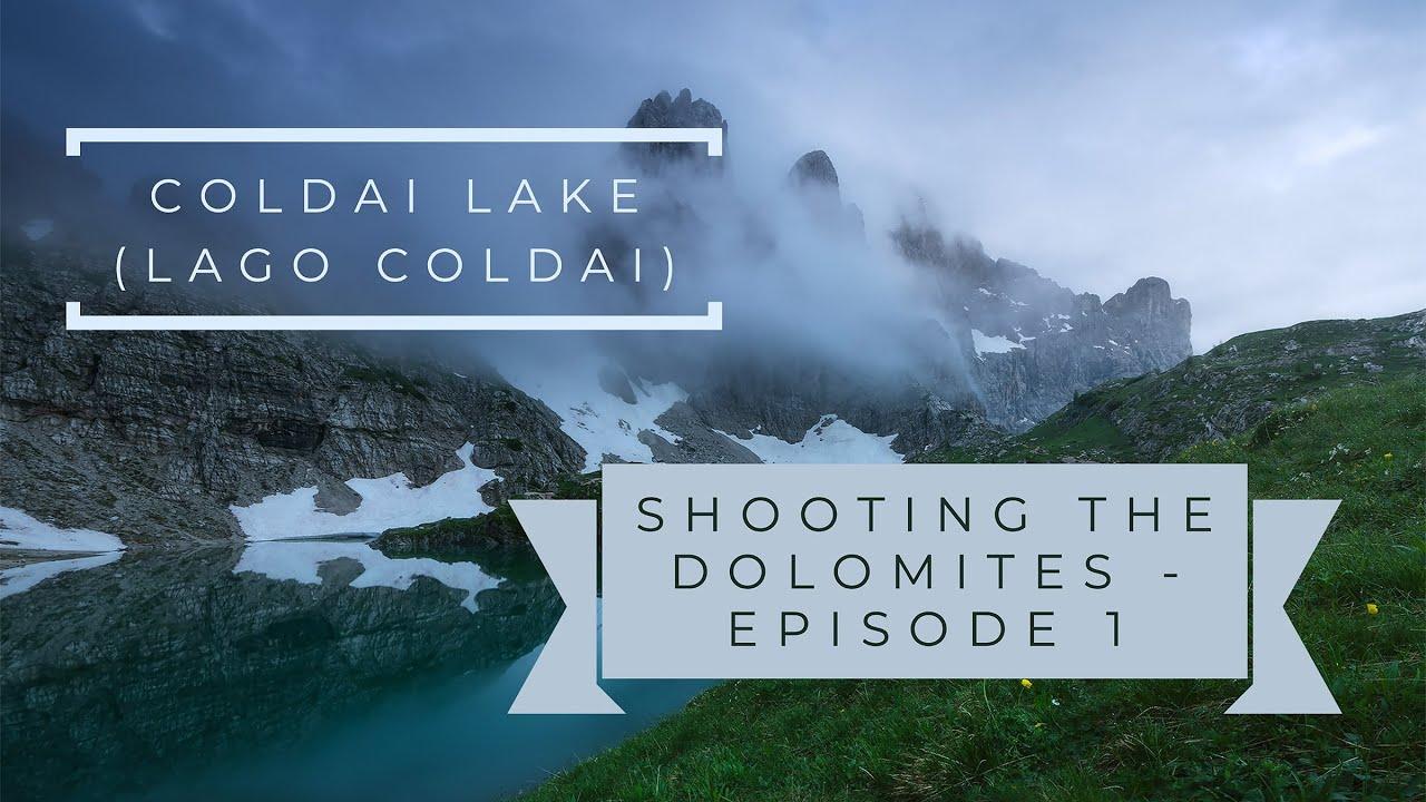 Download COLDAI LAKE (Lago Coldai)   Episode 1   SHOOTING the DOLOMITES (SUB ENG/ITA)   Leo's Photo Guides