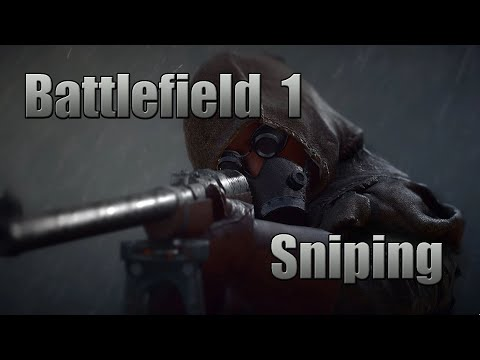 Playing some Battlefield 1, Testing my Sniping Skills