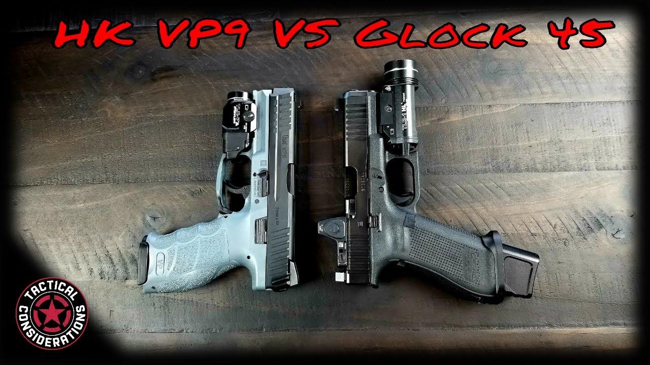 HK VP9 VS Glock 45 Compact Hammers! Maybe