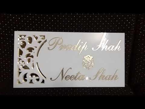 Pradip Shah & Neeta Shah ( Name Plate )