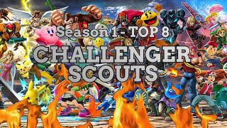 Season 1 TOP 8 - Challenger Scouts - Scout Fluor's Smashiversary 2020