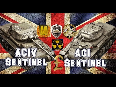 En boutique #4 AC1, ACIV Sentinel world of tank blitz Aced gameplay + French commentary