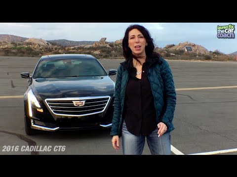 2016 Cadillac Ct6 Car Review By Lauren Fix The Coach