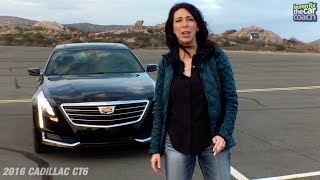 2016 Cadillac CT6 Car Review by Lauren Fix, The Car Coach