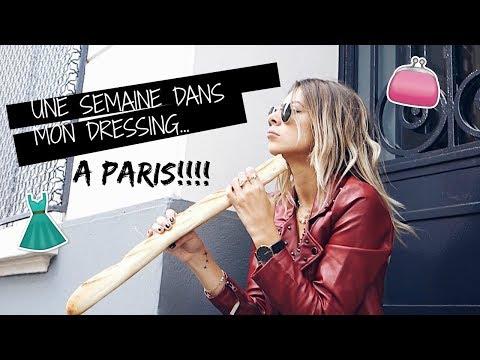Une semaine dans mon dressing... À PARIS!!! # HAUL