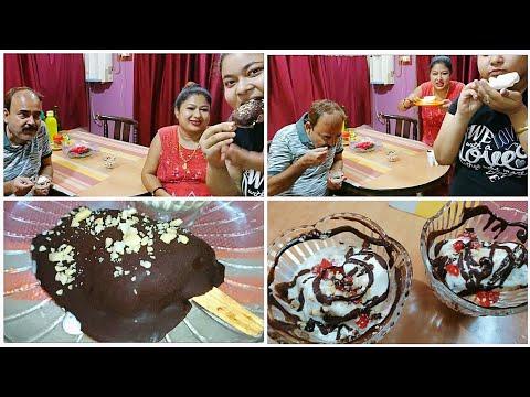 Super Duper Chocobar Ice Cream বাড়িতে বানিয়ে Heavy Enjoy করলাম [Bengali Vlog]
