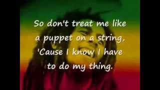 Waiting In Vain - Bob Marley (lyrics)
