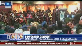 Convocation Ceremony: UNILAG Family, Friends Celebrate 12,617 Graduating Students