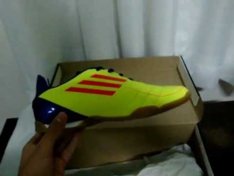 1011008fa3 Chuteira Adidas F50 (futsal) - YouTube