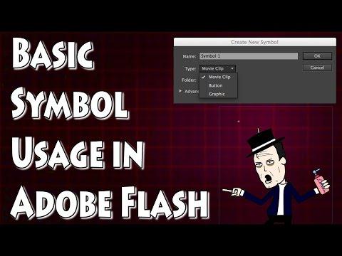 Adobe Flash Tutorial- Introduction to Symbols