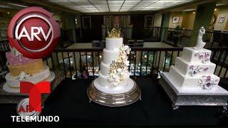 Así sería el pastel de bodas de Chiquis Rivera | Al Rojo Vivo | Telemundo