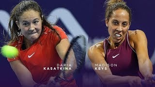Daria Kasatkina vs Madison Keys Wta Elite Trophy Zhuhai Highlights