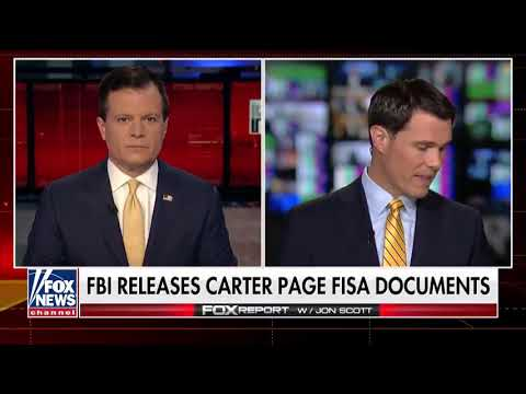 7-21-18 DOJ/FBI RELEASES CARTER PAGE FISA APPLICATIONS