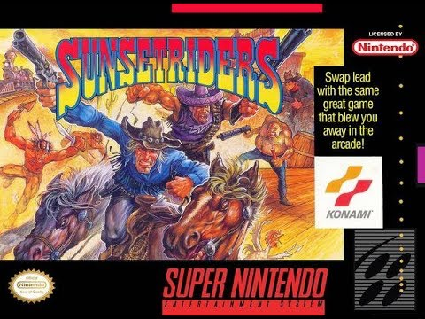 Sunset Riders (SNES) Mike Matei Live