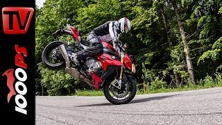 BMW S 1000 R - Test | 5 Meinungen - 1 Bike | Stunts, Action, Sound