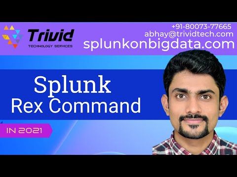 Rex OverView | Splunk Commnad | Useful Command | Extract Unstructured Data  using Splunk