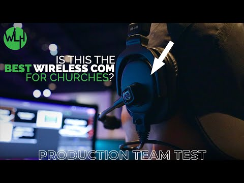 My Church Production Teams Test & Thoughts of the Solidcom M1