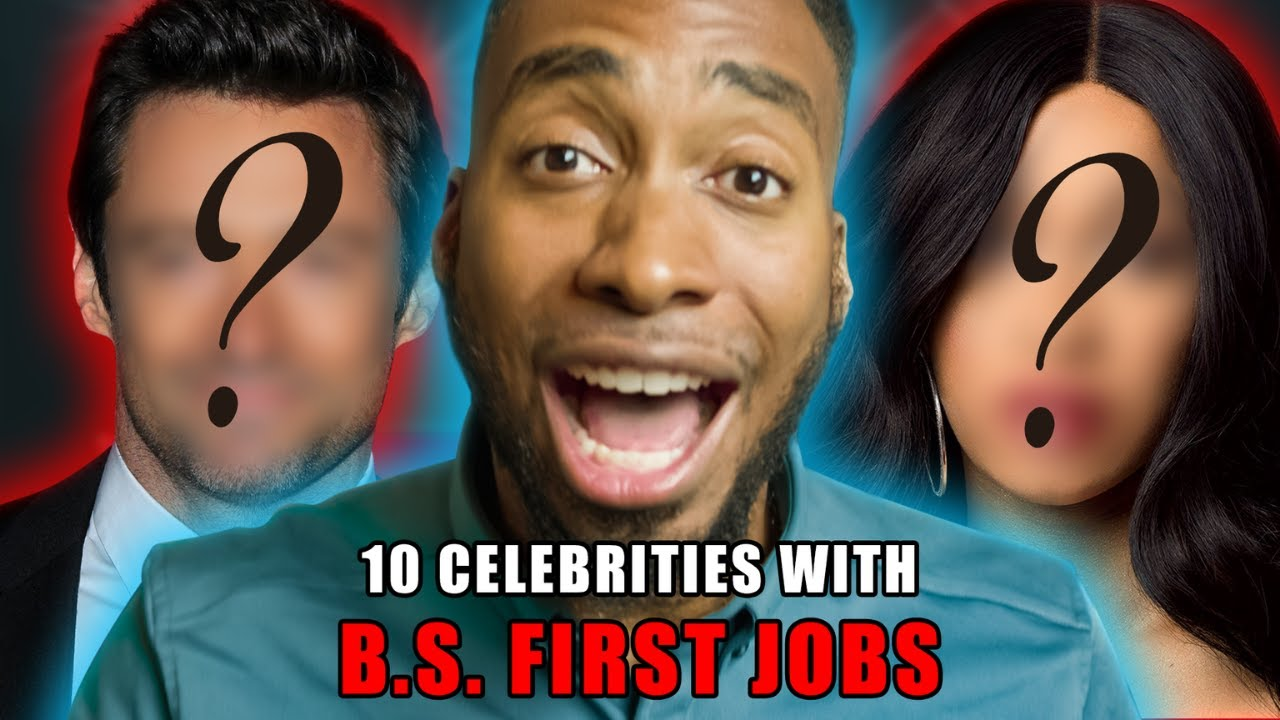 10 Celebrities With B.S. First Jobs (Prince Ea 2020)