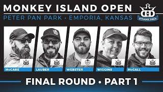 2018 Monkey Island Open | Final Round Part 1 (McCabe, Lauber, Webster, Wiggins, McCall)