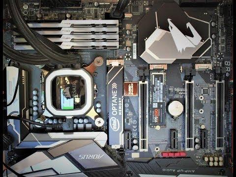 Configure NVME RAID 0 on Gigabyte Z370 Aorus Gaming 7 - LIVE