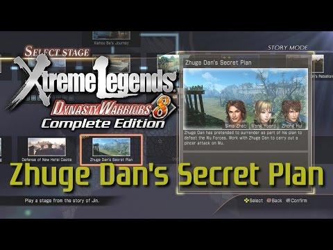 Dynasty Warriors 8 Xtreme Legends   Zhuge Dan's Secret Plan (Jin Xtreme Legend Stages Ep.4)