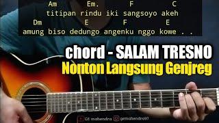Kunci Gitar SALAM TRESNO - Justine Lie | Tresno Ra Bakal Ilyang (By Ge Mahendra)