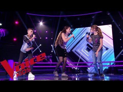 Maître Gims - Tout Donner | Maïssa - Wilson - Ermonia | The Voice Kids France 2018 | Battles