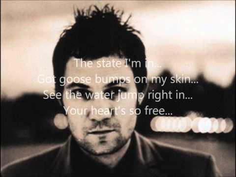 David Gray - Caroline (Rare Acoustic Version) w/ Lyrics On Screen