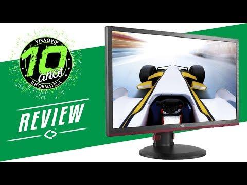 Monitor Gamer AOC G2460PQU 144hz - Review - Visão Vip Informática - Compras Paraguai
