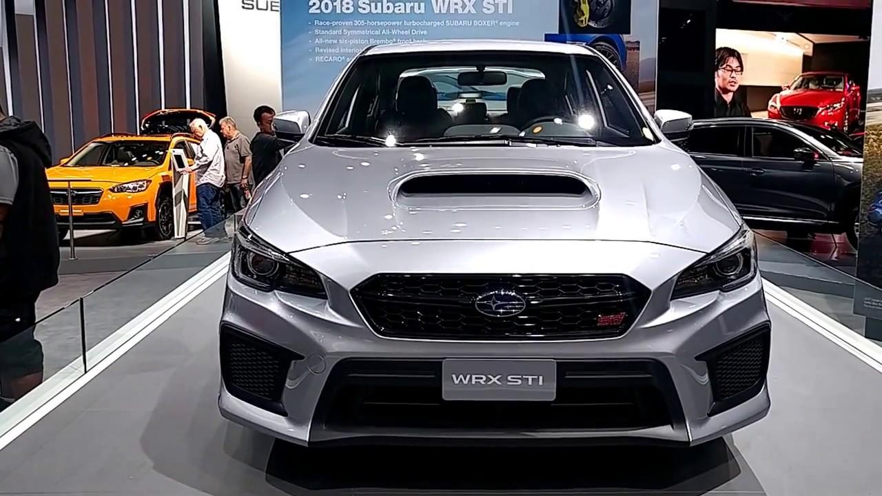 2018 subaru wrx premium. unique wrx 2018 subaru wrx sti  new york international auto show with subaru wrx premium