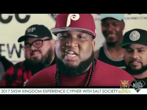 UCC Magazine Salt Society 2017 SXSW Cypher at Kingdom Experience - Christian Rap