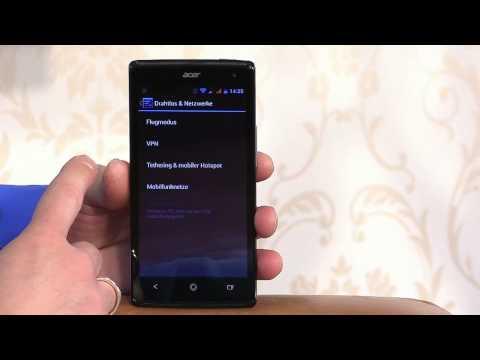 Acer Liquid - 6 Systemmenü und Einstellungen