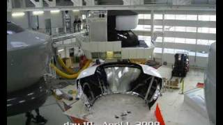 Time lapse CAE full flight Simulator