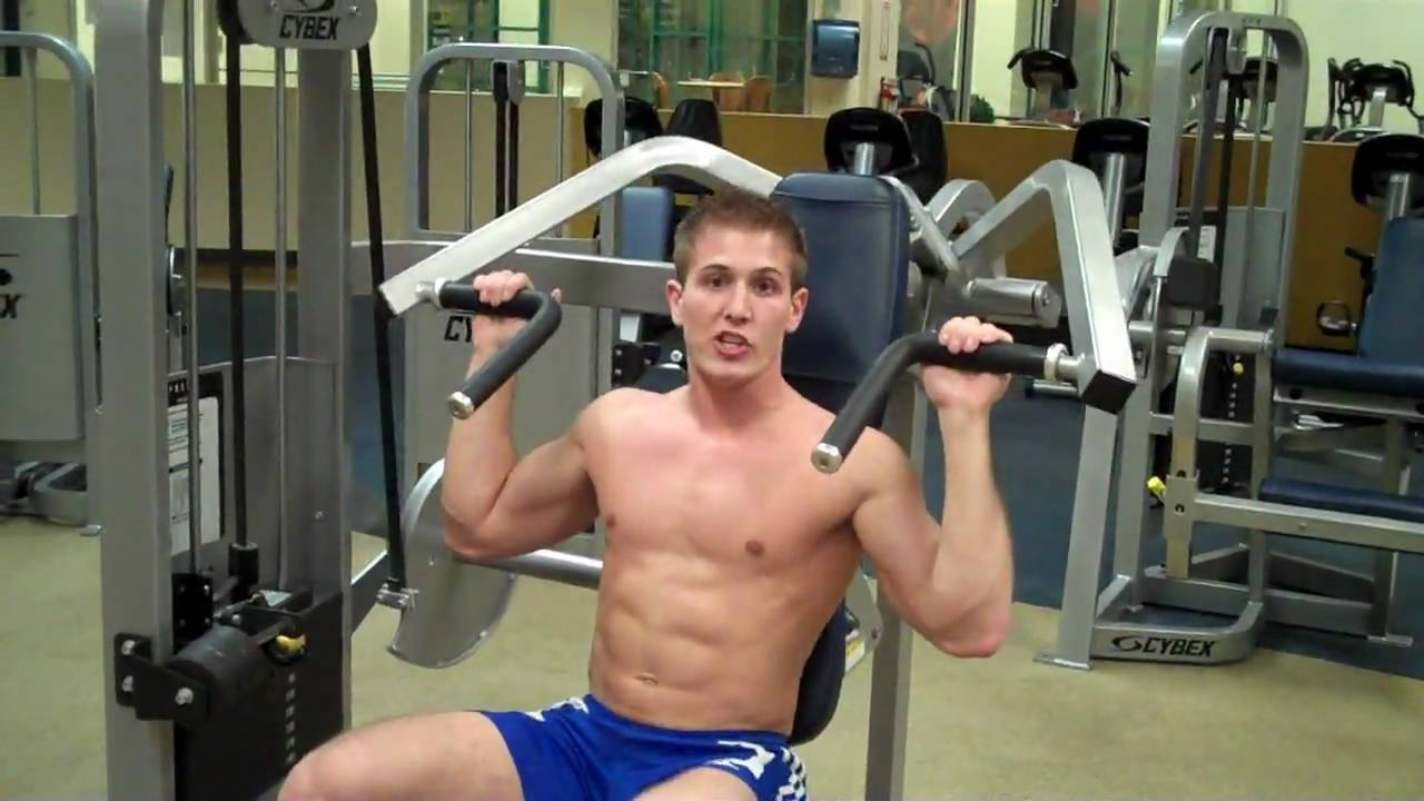 How To: Overhead Press (Cybex) - YouTube Overhead Press Muscles Worked