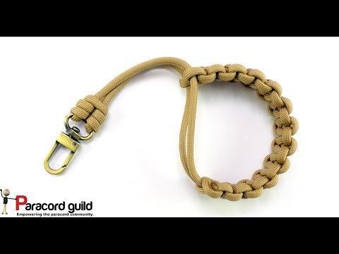 Paracord camera strap