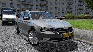 City Car Driving 1.5.4 | Skoda Superb Combi 2016 | 60FPS 1080p