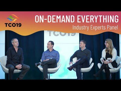 Paul Estes TCO19: On-Demand Everything Panel