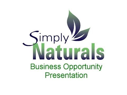 Simply Naturals Distributor Opportunity (Full)