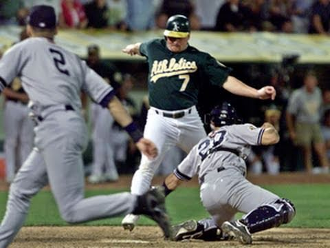 2001 ALDS, Game 3: Yankees at A's