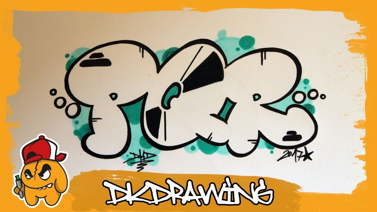 graffiti alphabet tutorial how to draw graffiti bubble letters p to r