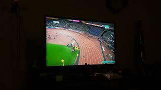 Usain Bolt sakalatlanma anı, Ramil Guliyev Usain Bolt Kapışması