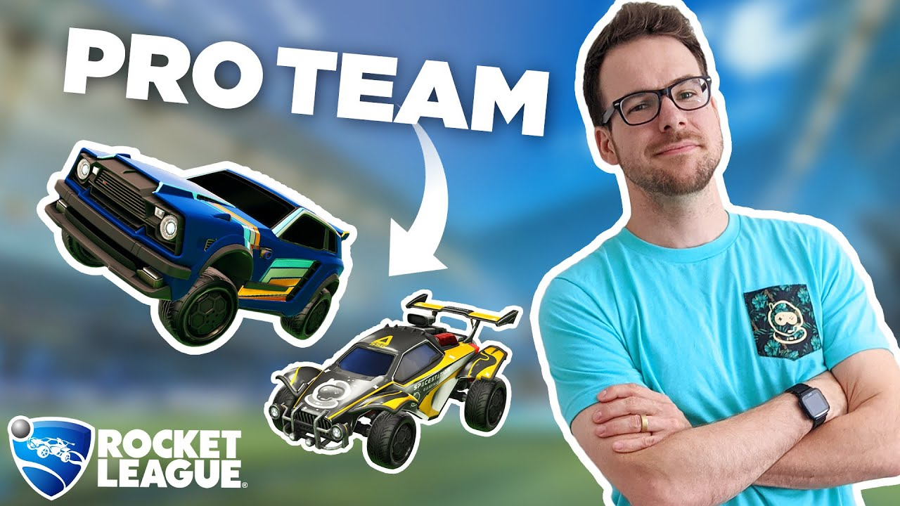 I joined a PRO team for a day to see if we could win BACK to BACK titles in Rocket League
