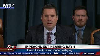 CONCLUDING REMARKS: Devin Nunes at the end of impeachment hearings day 4